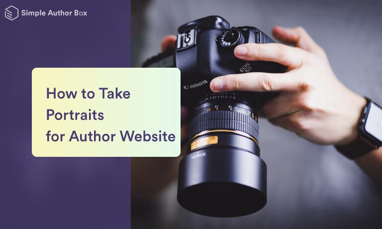 How to Take Portraits for an Author Website