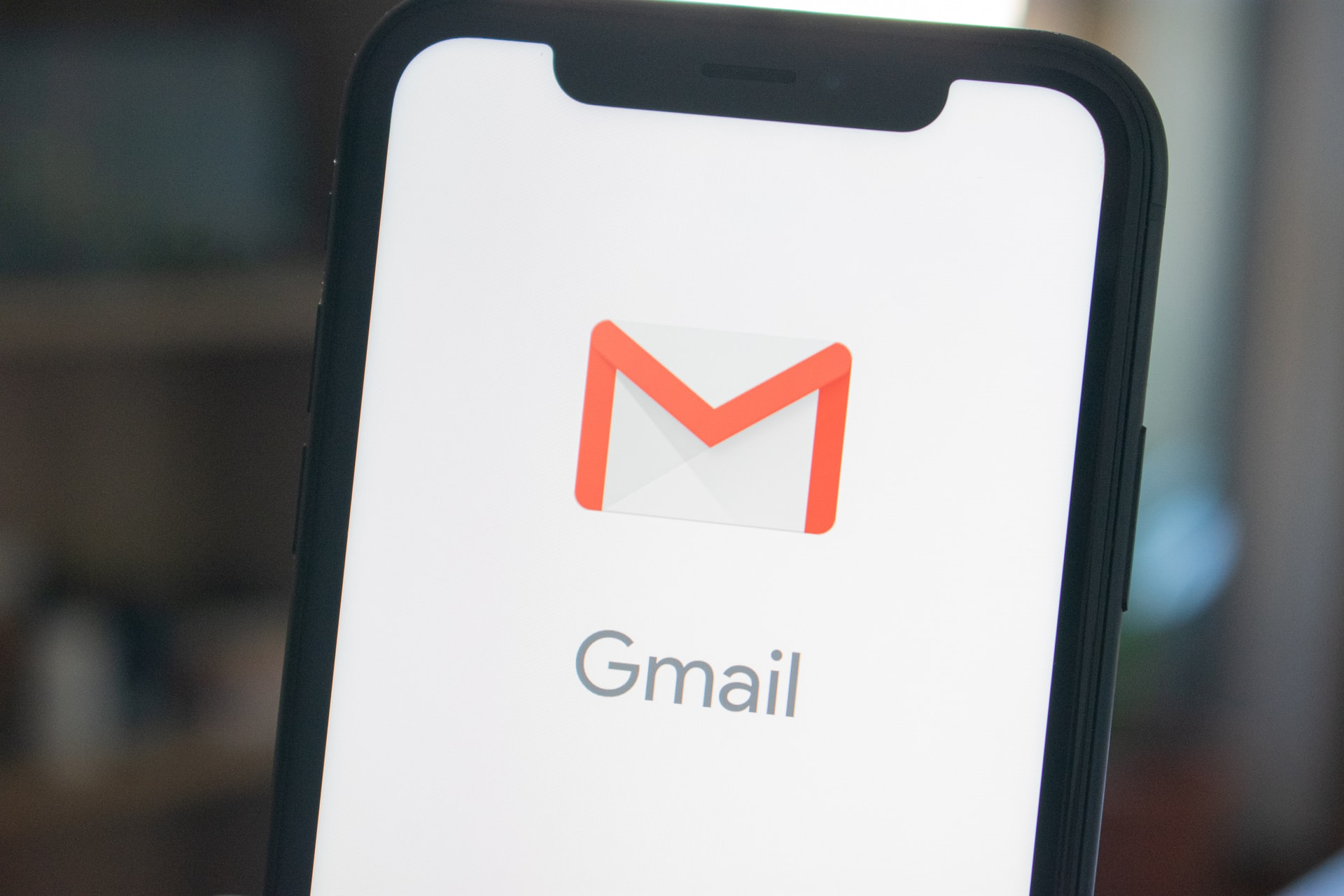 Gmail icon on phone