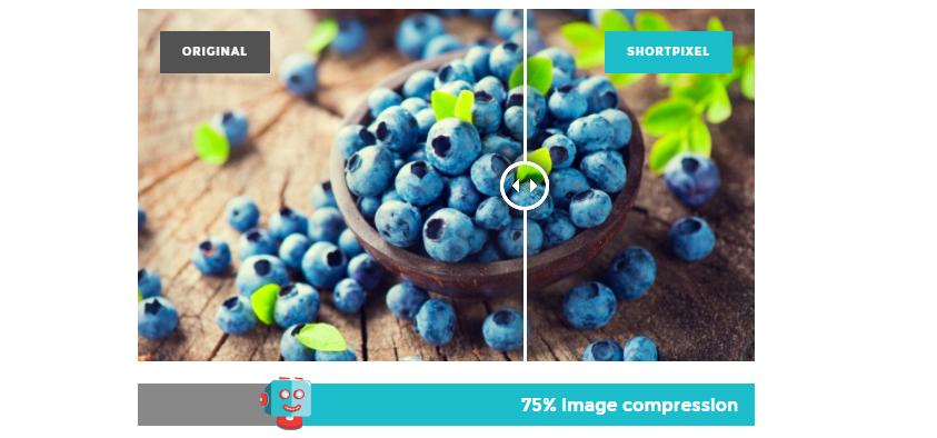 ShortPixel compression example