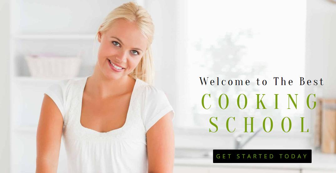 Cooking School template