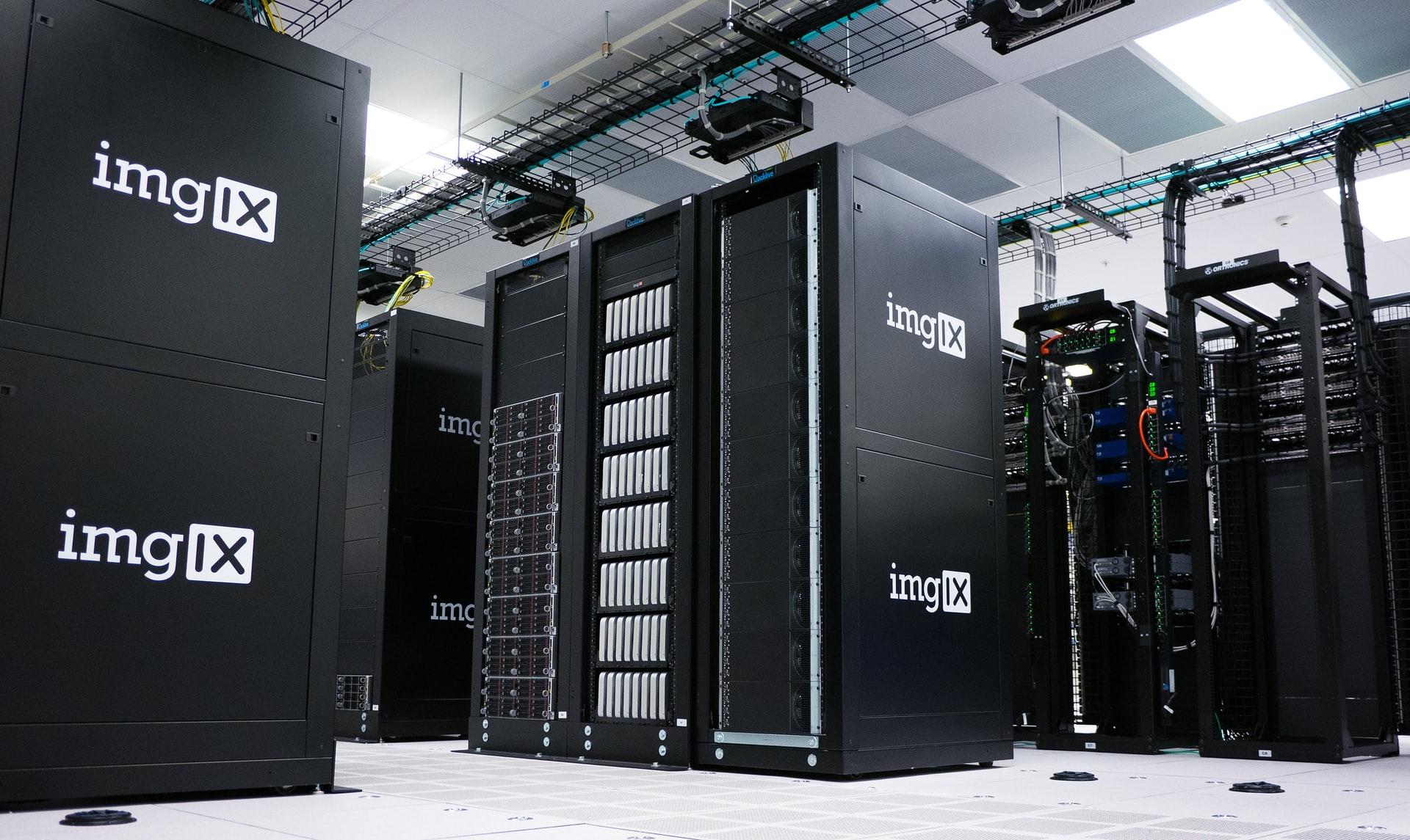 Imgix server room