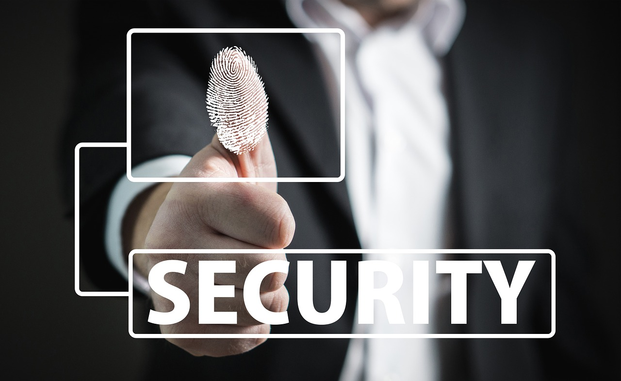 Thumb print and word Security