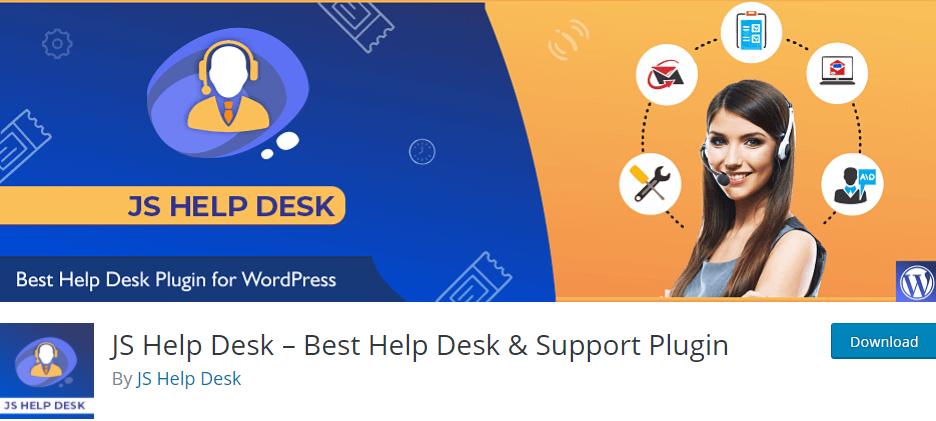 JS Help Desk - Best Help Desk & Support Plugin