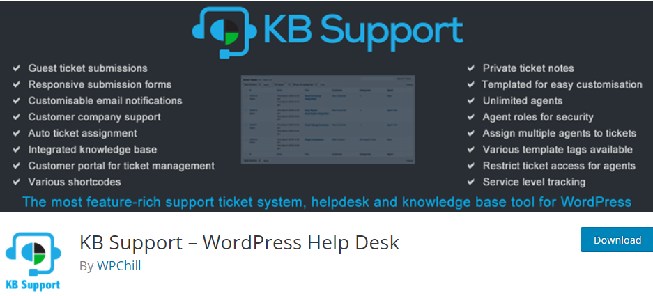 KB Support - WordPress Help Desk