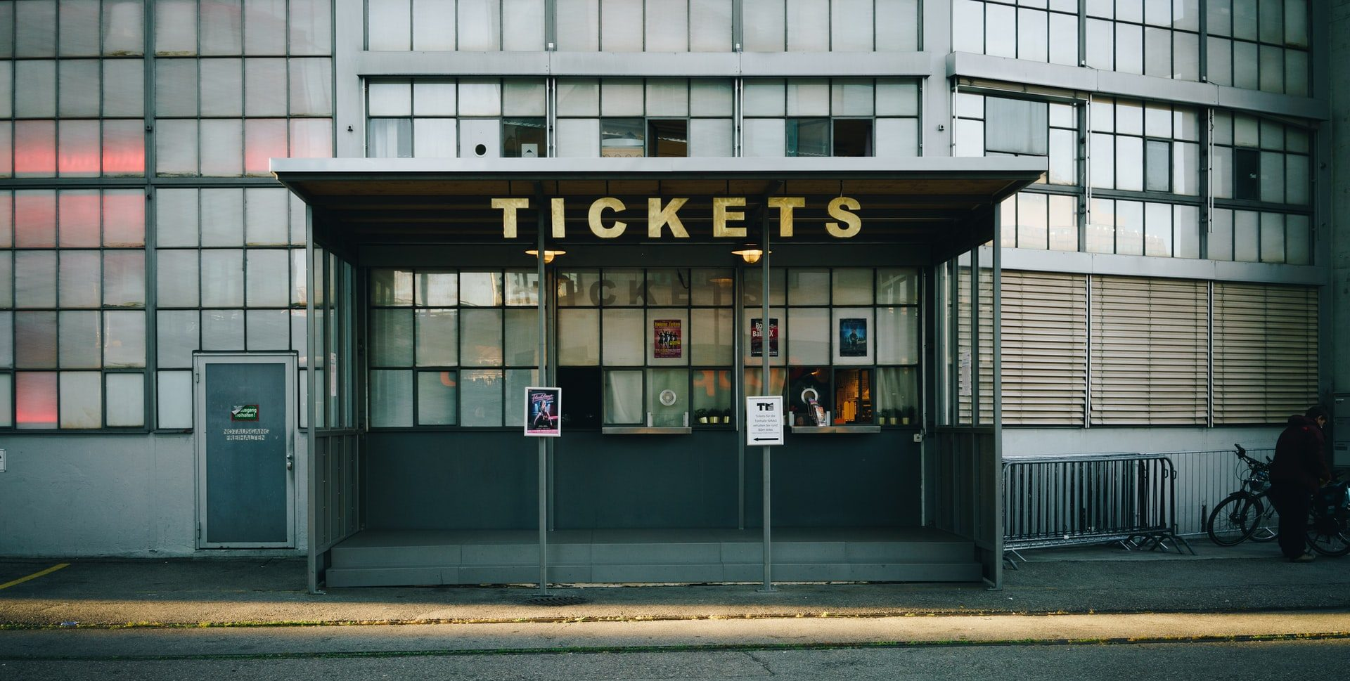 Tickets stand