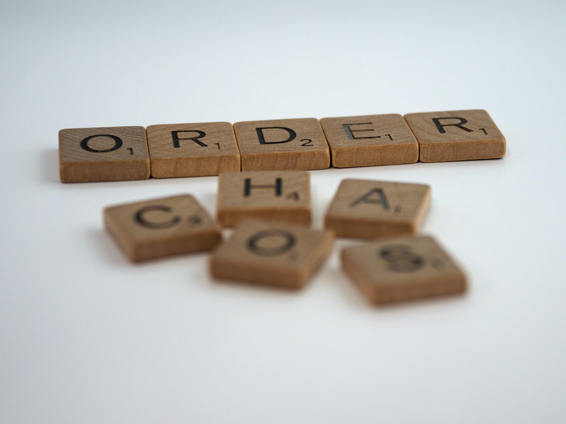 Order letter blocks