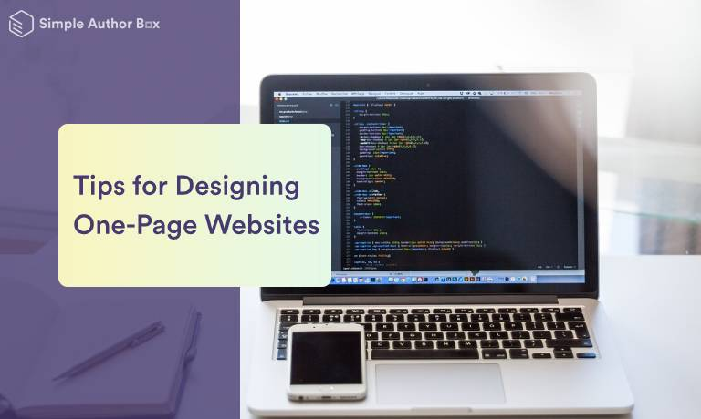 Six Tips for Designing One-Page Websites That Will Wow Your Visitors